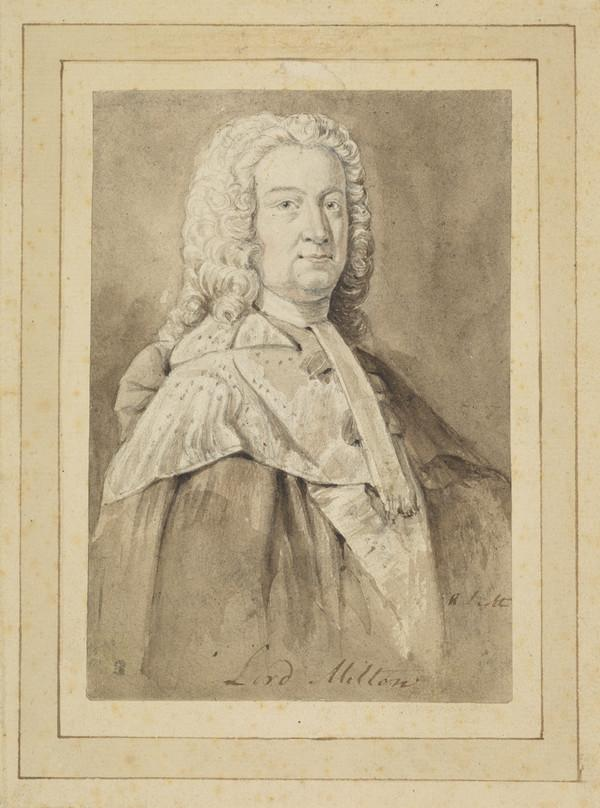 Andrew Fletcher, Lord Milton, 1692 - 1766. Lord Justice-Clerk