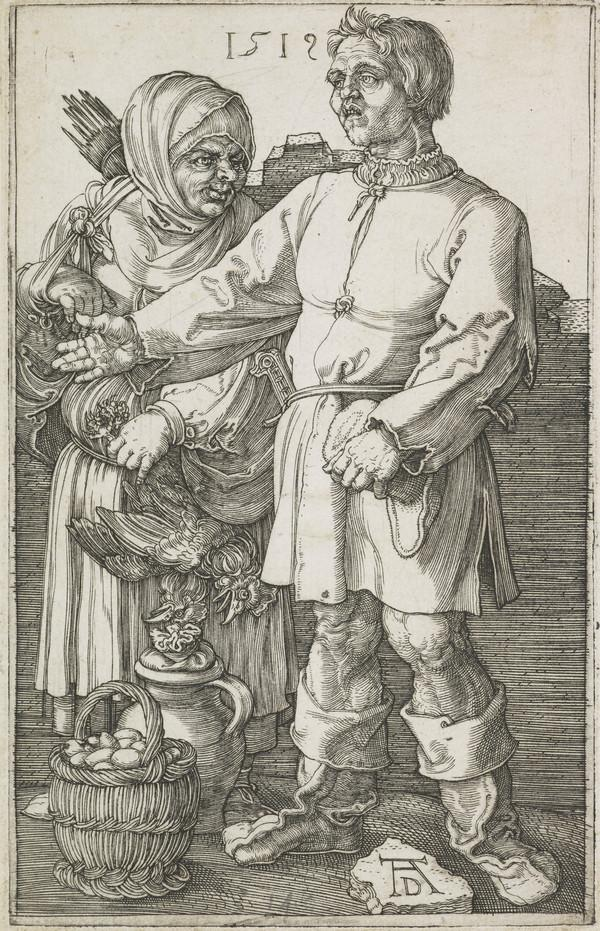 The Peasant and His Wife at Market (1519)