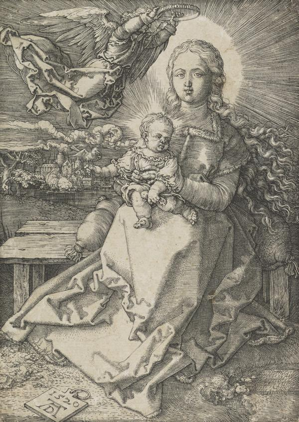 Madonna Crowned by an Angel (1520)