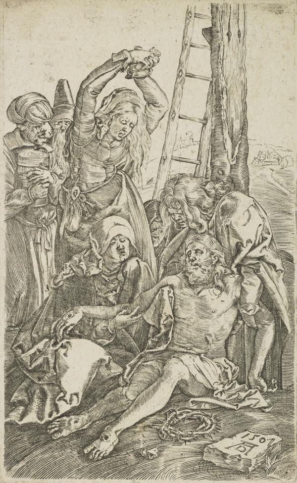 Copy after the Passion: The Lamentation
