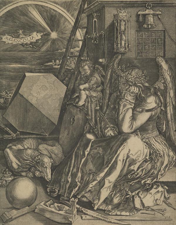 Melencolia (see Bartsch No. 74 (87)) (1602)