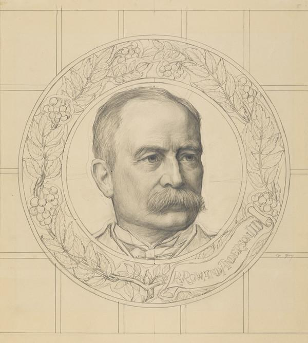 Sir Robert Rowand Anderson, 1834 - 1921. Architect of the Scottish National Portrait Gallery