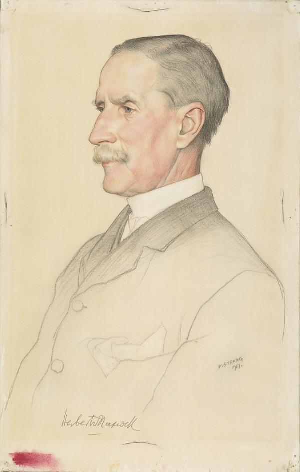 Sir Herbert Eustace Maxwell, 1845 - 1937. Historian, biographer and naturalist (1917)