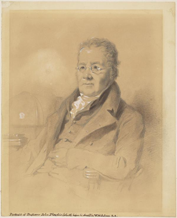 Professor John Playfair, 1748 - 1819. Mathematician