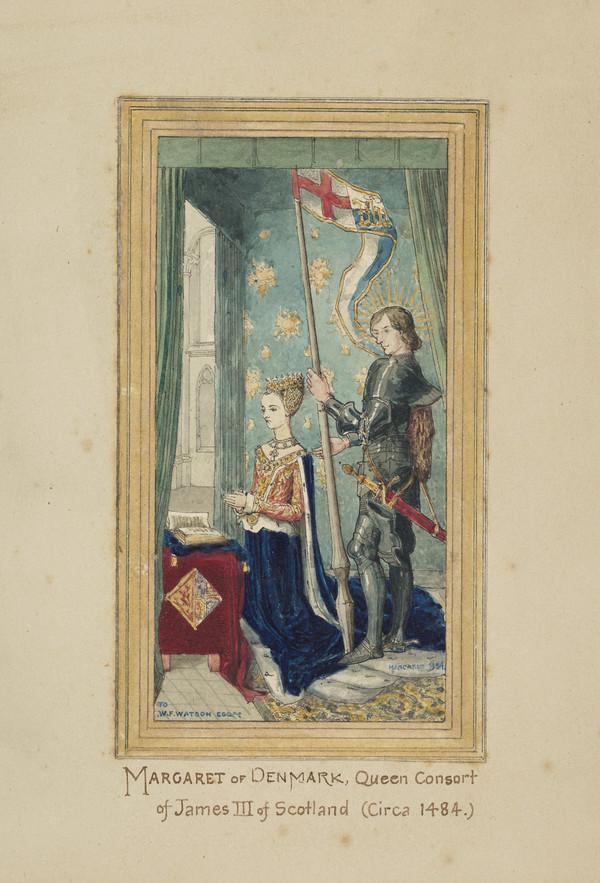 Queen Margaret, c 1457 - 1486. Queen of James III