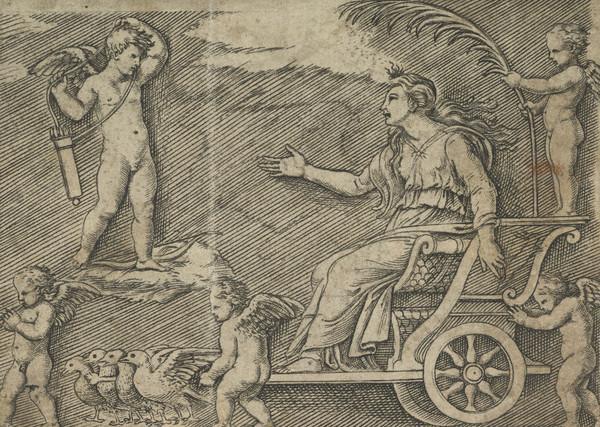 Venus addressing Cupid