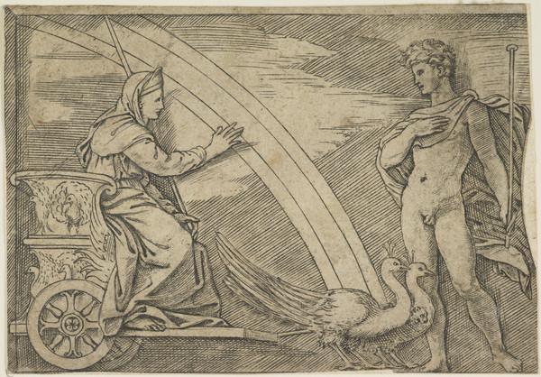 Juno addresses Aeolus
