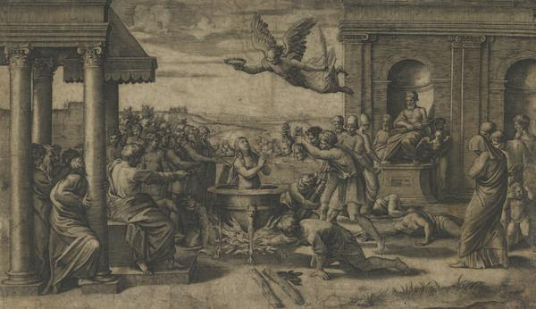 Martyrdom of St Cecilia