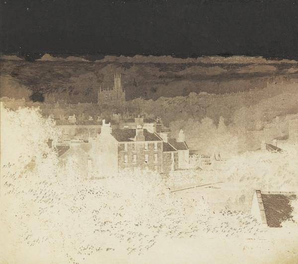 View of Edinburgh (Dean Church) from West Claremont Street