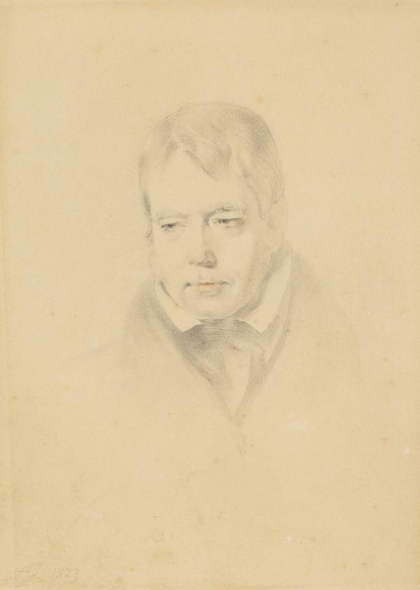 Sir Walter Scott, 1771 - 1832. Novelist and poet (1823)