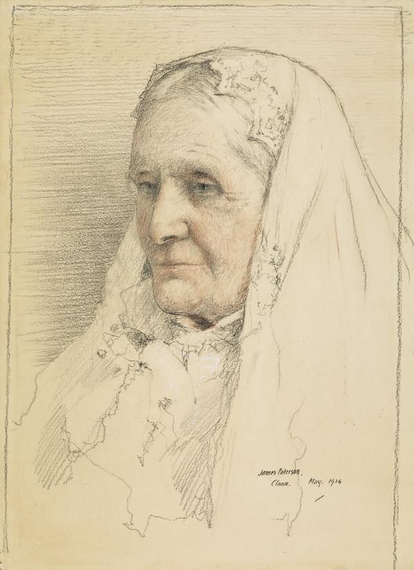 Mary Elizabeth Burdon-Sanderson, Mrs Robert Haldane, d. 1925. Mother of Viscount Haldane of Cloan (1914)