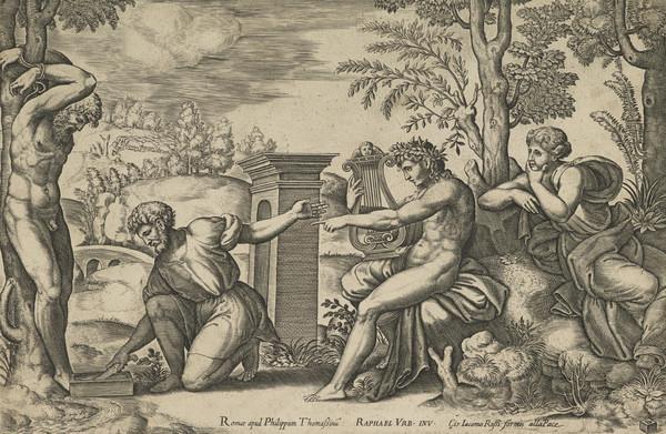Apollo and Marsyas (1530 - 1550)