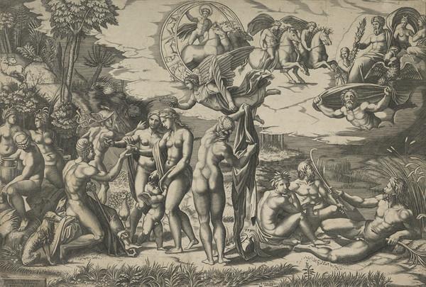 Judgement of Paris (About 1520)