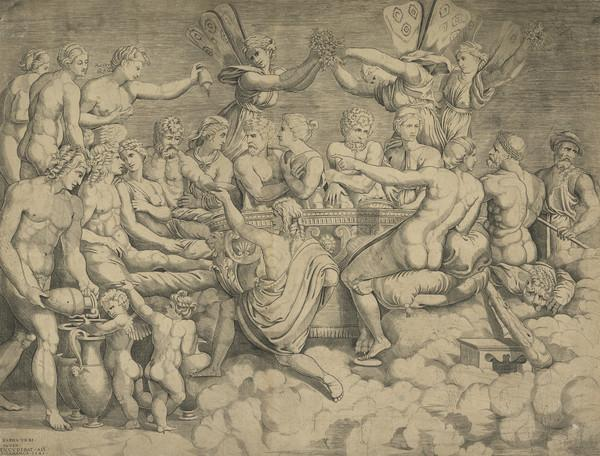 Feast of the Gods (Wedding Feast of Cupid and Psyche)