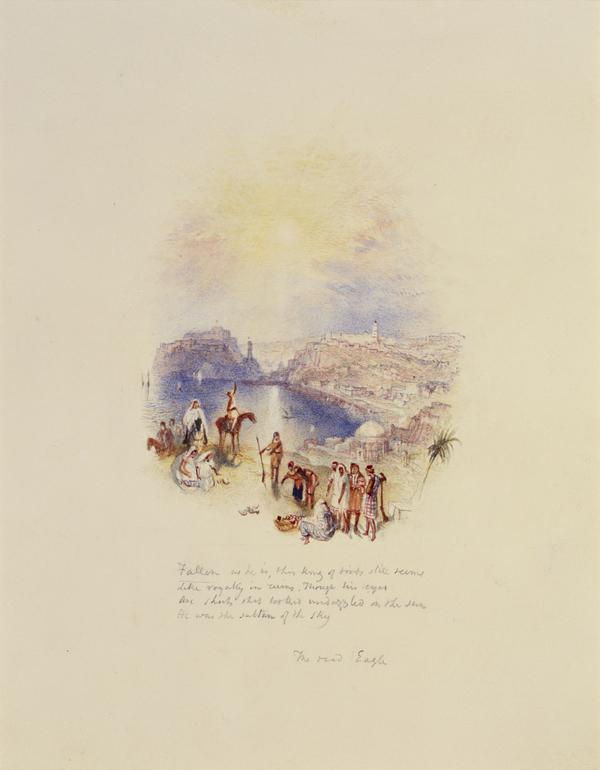 One of Twenty Vignettes -  The Dead Eagle (About 1835)