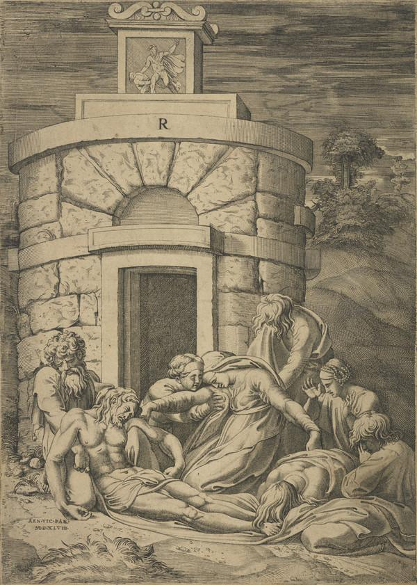 Lamentation before the tomb (1548)