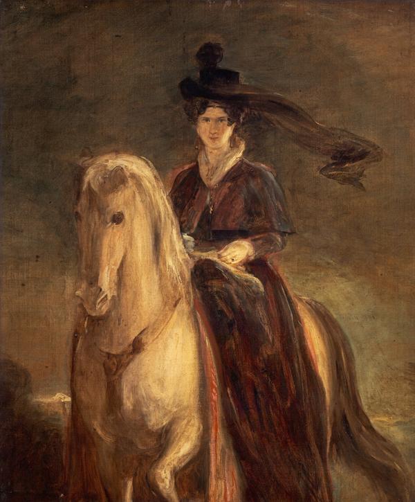 Queen Adelaide, 1792 - 1849. Princess Adelaide Louisa Theresa Caroline Amelia of Saxe-Meiningen. Queen of William IV (About 1833)