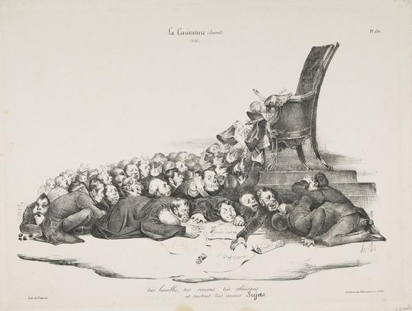 très humbles, très soumis, très obéissans...et surtout très voraces Sujets [Very Humble, Very Obedient, Very Submissive, and Most of All, Very... (1832)