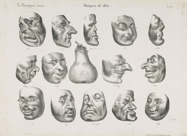 Masques de 1831 [Masks of 1831] (1832)