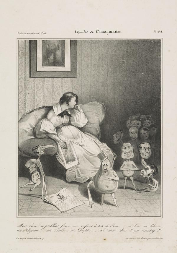 Chimère de l'imagination [Chimera of the Imagination] (1833)