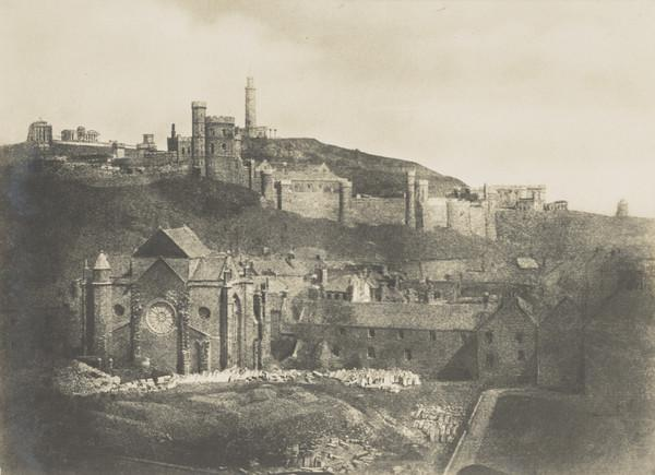 Trinity College Chapel and Hospital, with Calton Hill in the background [Edinburgh 21]