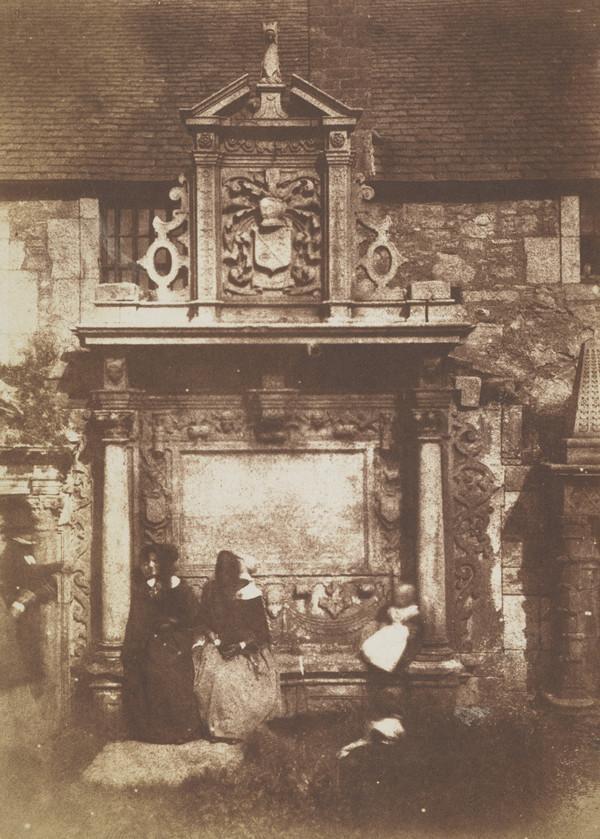 Greyfriars' Churchyard, the Dennistoun Monument [Edinburgh 46]