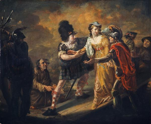 Mary Queen of Scots Escaping from Lochleven Castle (1805)