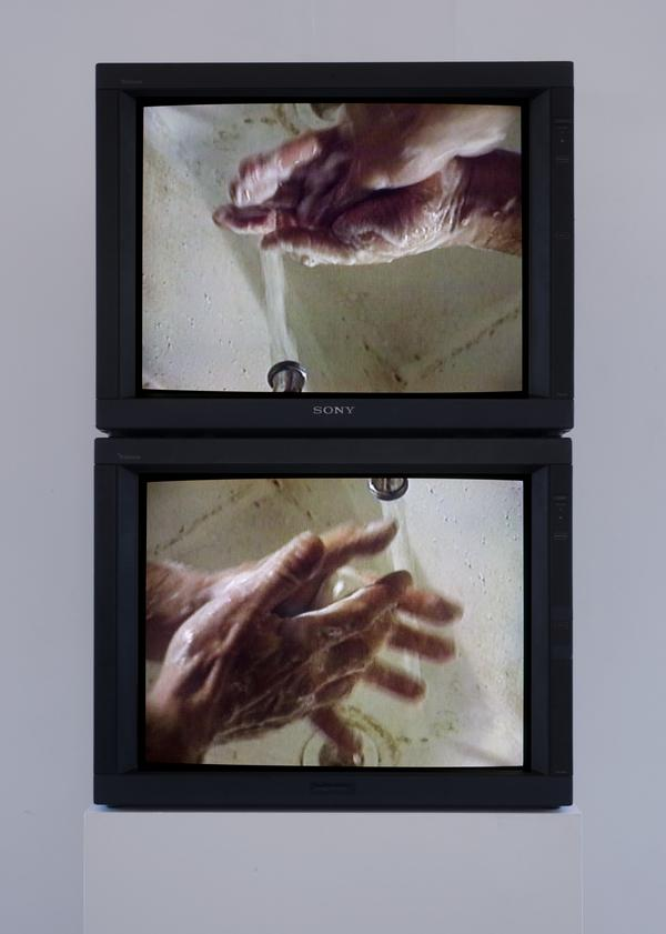 Raw Materials Washing Hands, Normal (A of A/B), 1996 Raw Materials Washing Hands, Normal (B of A/B), 1996 (1996)