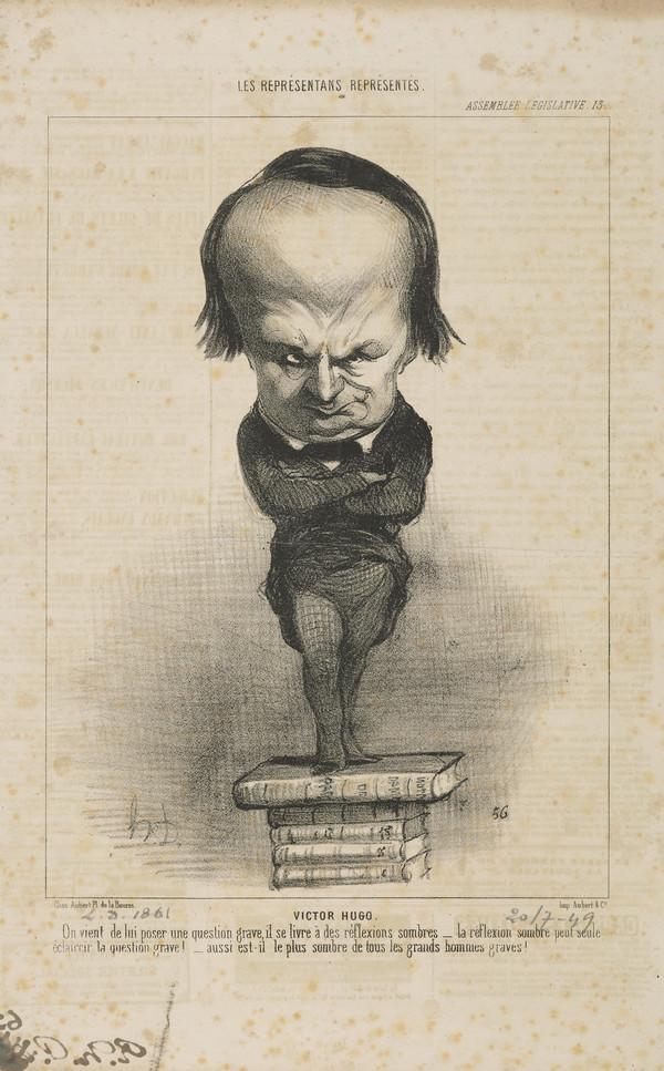 Victor Hugo, from 'Les Representans Representes'
