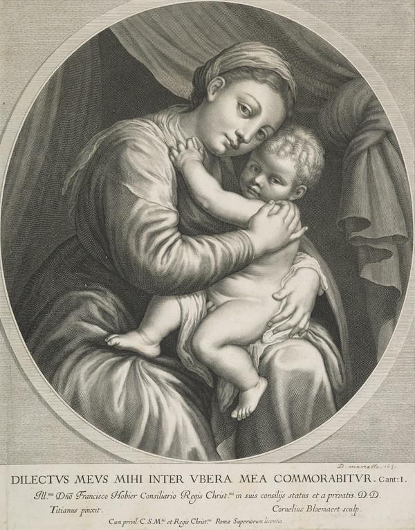 The Virgin with the Child (1633 - 1692)