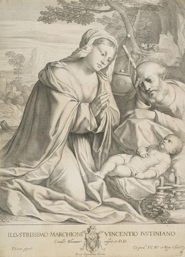 The Virgin adoring the Child (1633 - 1637)