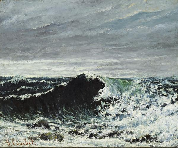 The Wave (About 1869)