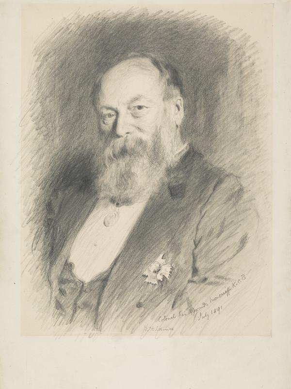 Colonel Sir Alexander Moncrieff, 1829 - 1906. Engineer