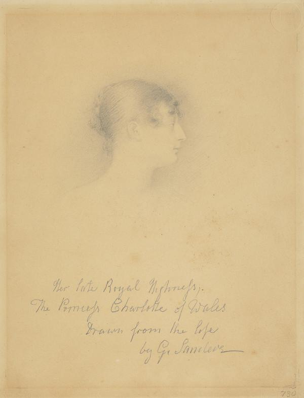 Princess Charlotte Augusta, 1796 - 1817. Only child of George IV