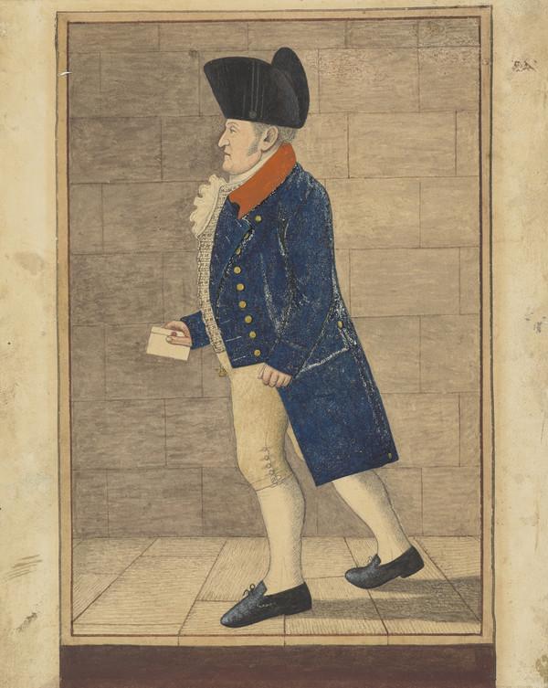 Archibald Campbell, 1768 - 1833. Edinburgh City Officer and King's Beadle
