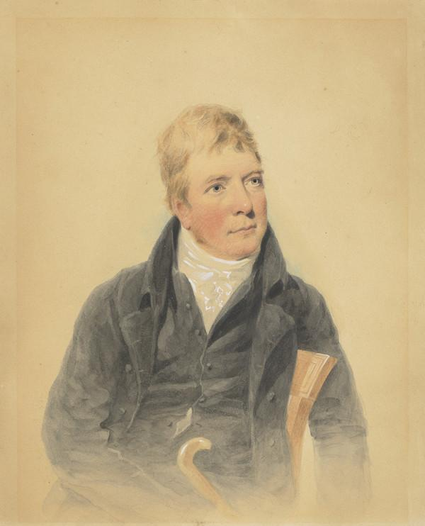 Sir Walter Scott, 1771 - 1832. Novelist and poet (Painted 1815)