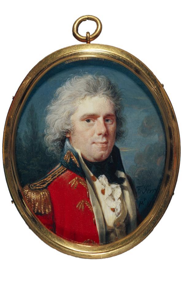 John Ramsay, 1768 - 1845. Soldier; son of Allan Ramsay the artist (1794)