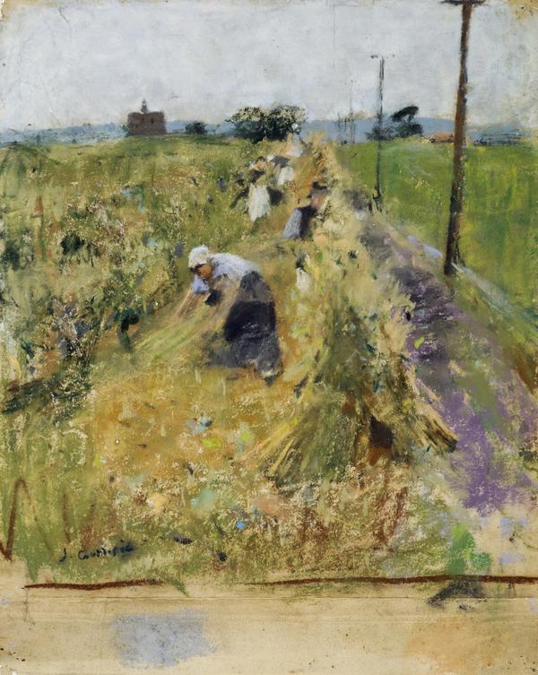 Women Working in a Field (1888)