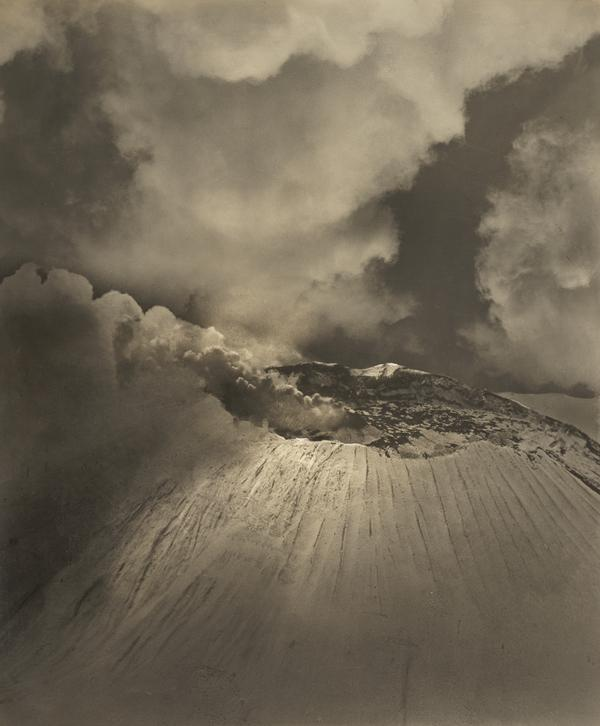 Volcano. Crater of Popocatetl (About 1930)