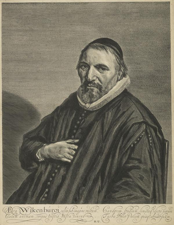 Portrait of Theodorus Wikenburg (1623 - 1686)