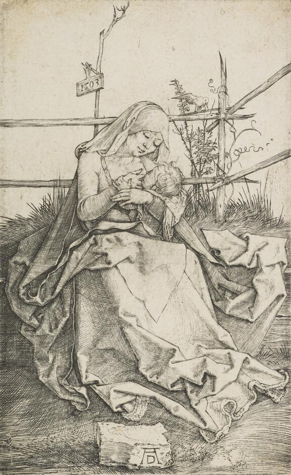 Madonna on a Grassy Bank (1503)