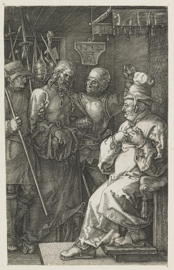 Christ before Caiaphas (1512)