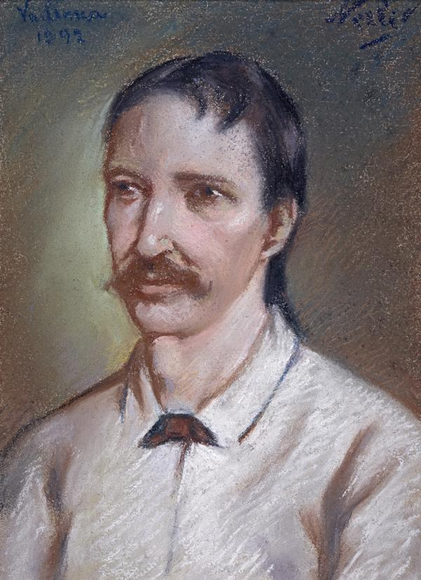 Robert Louis Stevenson, 1850 - 1894. Essayist, poet and novelist (1893 - 1938)