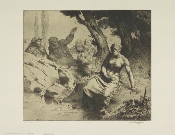 Susannah and the Elders (Strang No. 41) (1883)