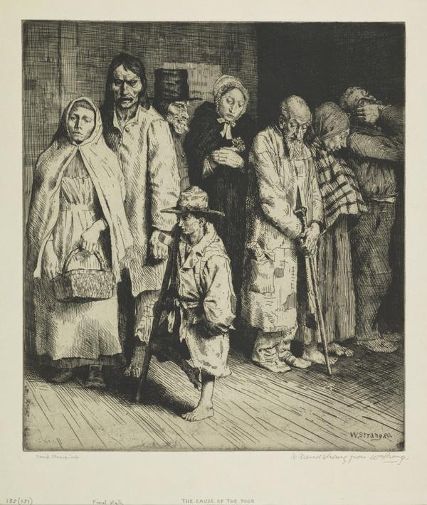 The Cause of the Poor (Strang No. 185) (1890)