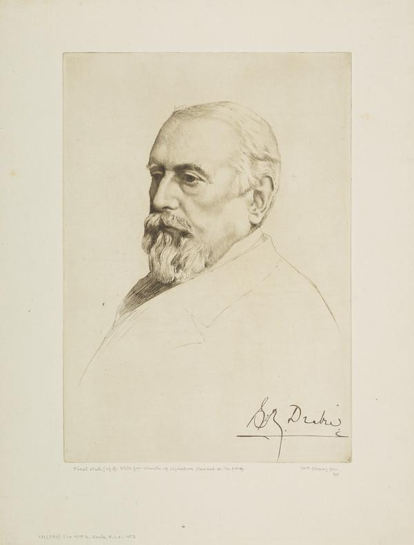 Sir William R. Drake, F.S.A., No. 1 (Strang No. 131) (1887)