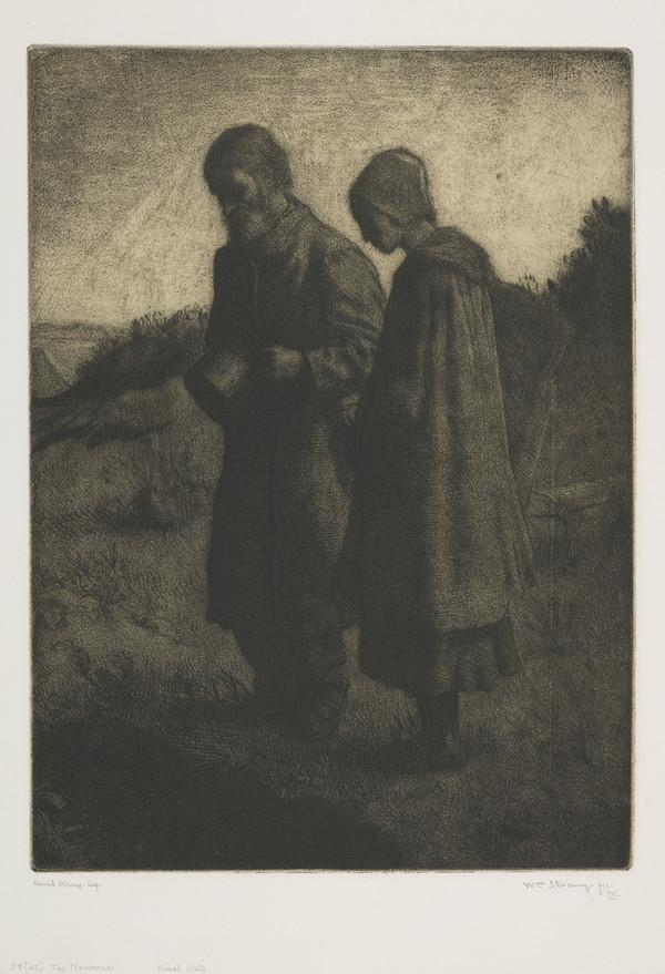 The Mourners (Strang No. 59) (1884)
