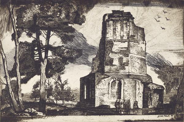 La Tour Magne, Nîmes, Provence (1927)