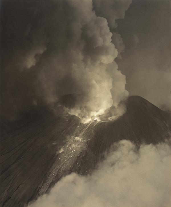 Volcano. Santa Maria, Guatemala (About 1930)