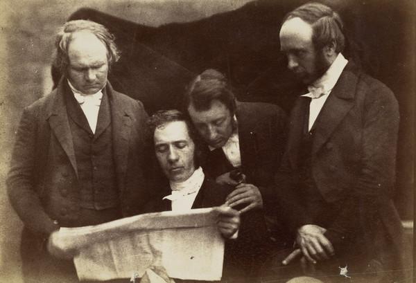 Dumbarton Presbytery.  - McMillan of Cardross, Rev. William Alexander, Rev. James Smith (or Goodsir) and Rev. John Pollock [Presbytery Group 7] (1843 - 1847)